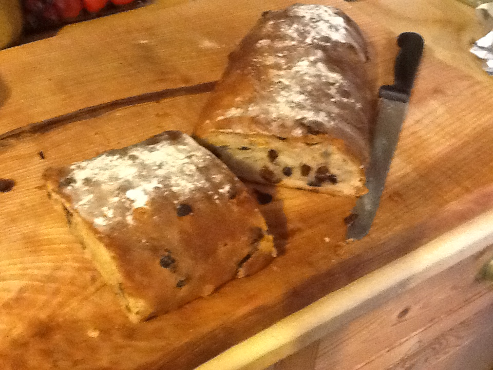 Paul Hollywood's recipe for Stollen